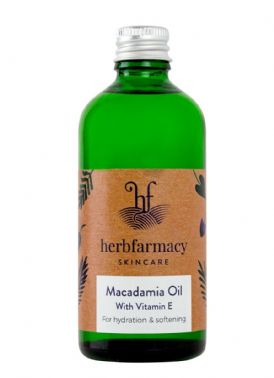 Herbfarmacy Macadamia Oil with Vitamin E 100ml